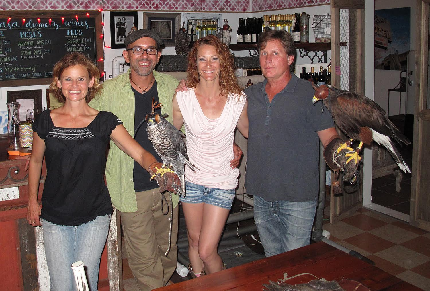 Abatement Lecture At The Casa Dumetz Winery Falcon Force